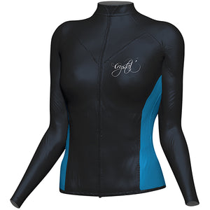 Zip-up Ladies Rash Shirt