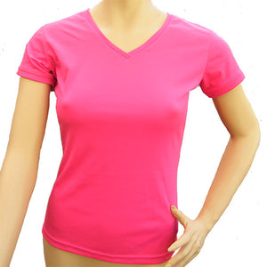 Dragon's Head Tee pink - ladies