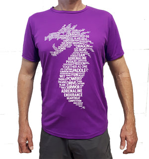 Dragon Head T-Shirts Unisex - purple