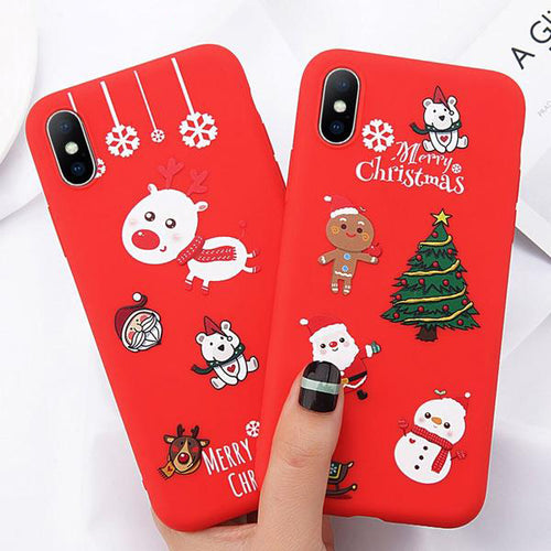 Christmas Tree Phone Case For iPhone X/ XS Max/ XR