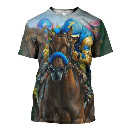 3D All Over Printed American Pharoah Shirts And Shorts DT071105