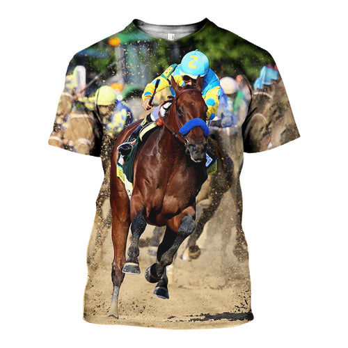 3D All Over Printed American Pharoah Shirts And Shorts DT071107