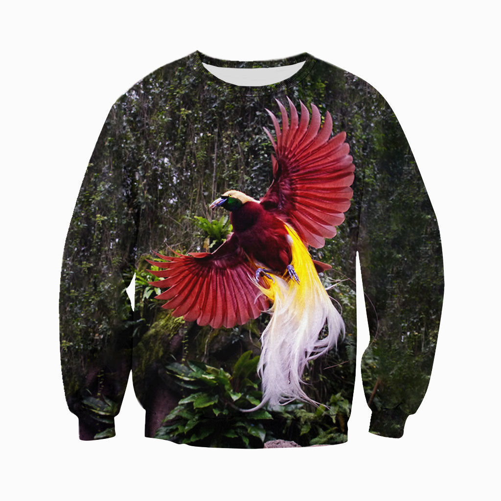 2de52726eb17 3D All Over Printed Bird Of Paradise Shirts And Shorts DT011111 ...