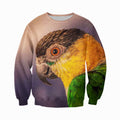3D printed Black Headed Caique Clothes DT100806