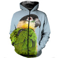 3D printed Black Headed Caique Clothes DT100807