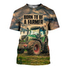 3D printed Tractor T-shirt Hoodie DT120702