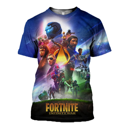 3D printed Fortnite Infinity War Clothes DT010812