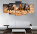 5 piece Horses printed Canvas Wall Art DT220705