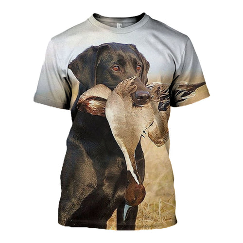 3D printed Hunting Dog  T-shirt Hoodie DT130715
