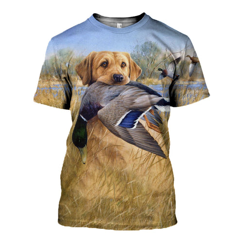 3D printed Hunting Dog  T-shirt Hoodie DT130718