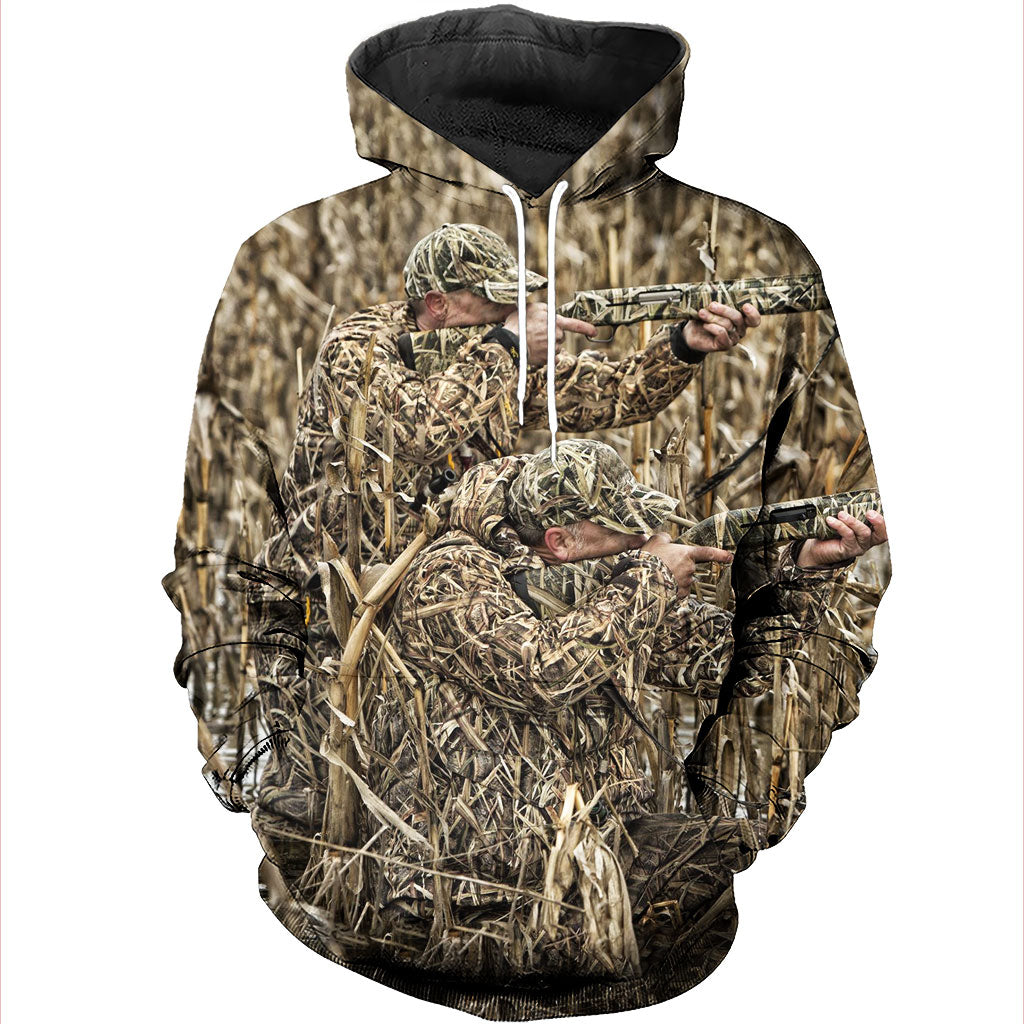2ba41be56581 ... 3D All Over Printed Duck Hunting Shirts And Shorts DT081103 ...