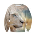 3D Printed Lion T Shirt Long sleeve Hoodie DT060615