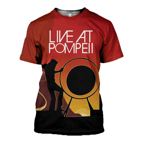 3D printed Live at Pompeii Tops DT110701