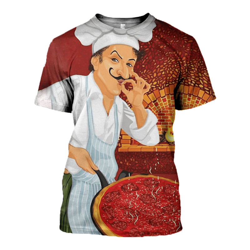 3D printed Pizza Chef Clothes DT130720
