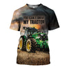 3D printed Tractor T-shirt Hoodie DT120701