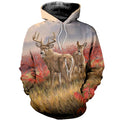 3D printed Whitetail Deer T-shirt Hoodie DT250702