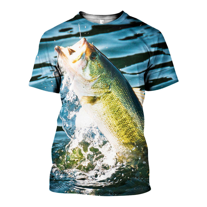 3D All Over Printed Bass fishing Shirts And Shorts DT11041902