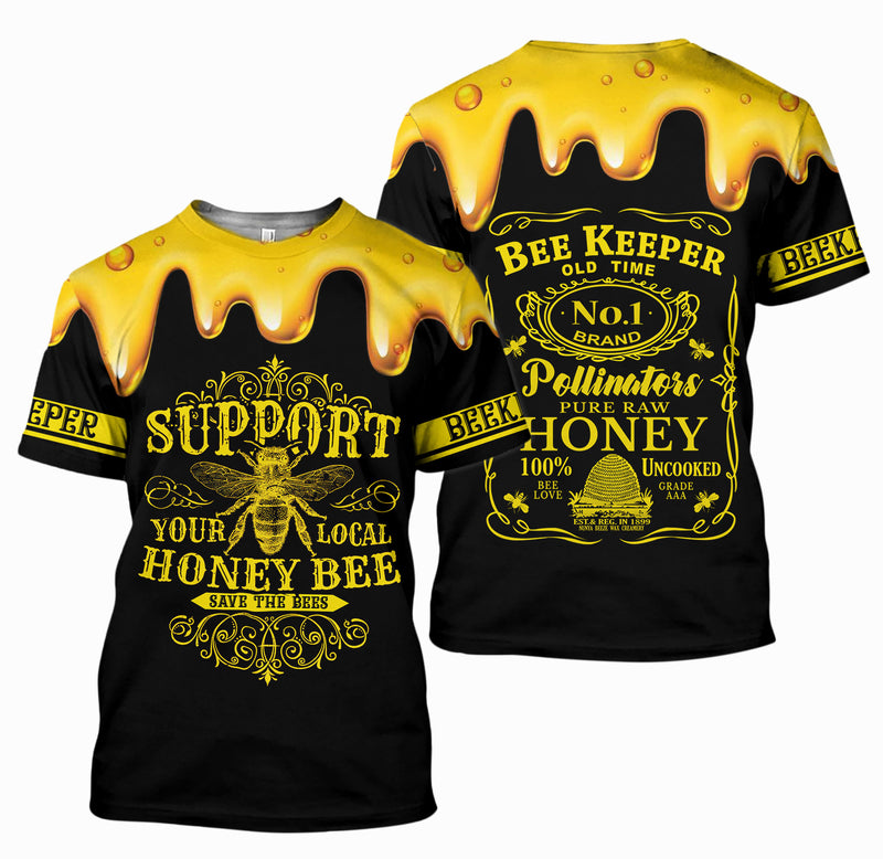 3D All Over Printed Beekeeper Shirts And Shorts DT12091910