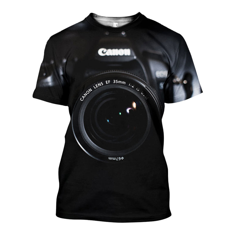 3D All Over Printed Camera Shirts And Shorts DT04031901