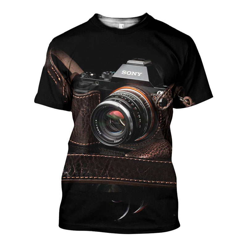 3D All Over Printed Camera Shirts And Shorts DT30081911