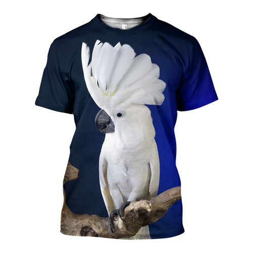 3D All Over Printed Umbrella Cockatoo Shirts And Shorts DT25061901
