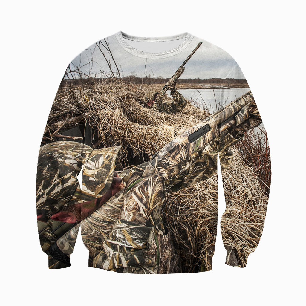 79af17fb6e4f 3D All Over Printed Duck Hunting Shirts And Shorts DT141103 ...
