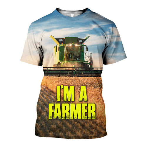 3D All Over Printed Farmer Shirts And Shorts DT29051906