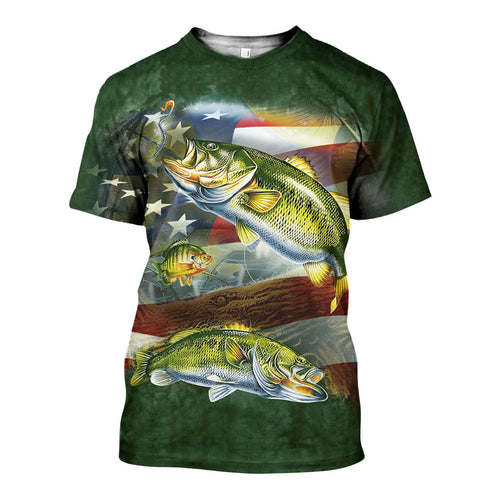 3D All Over Printed Fishing Shirts And Shorts DT2702201901