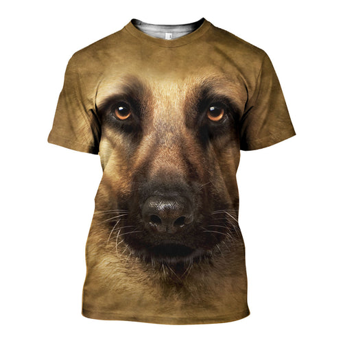 3D All Over Printed German Shepherd Shirts And Shorts DT15081904