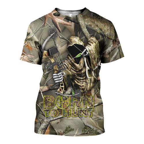 3D All Over Printed Hunting Shirts And Shorts DT041202