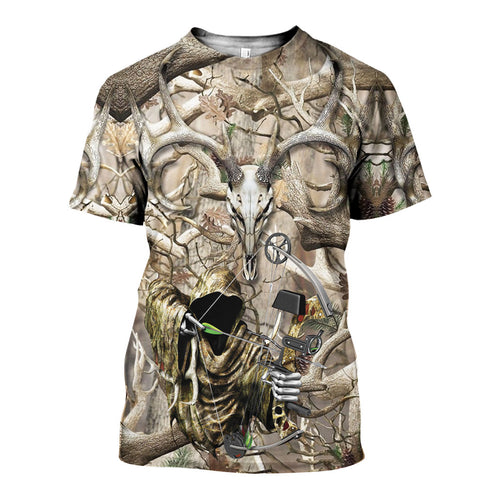3D All Over Printed Hunting Camo Shirts And Shorts DT151215