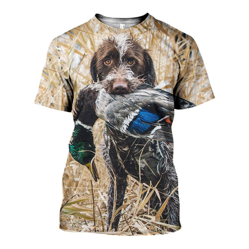 3D All Over Printed Hunting Dog Shirts And Shorts DT171112