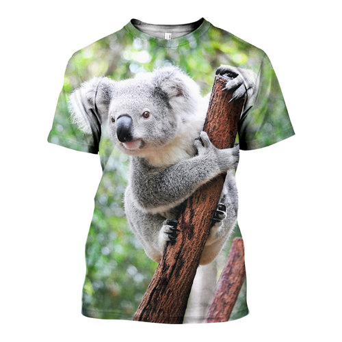 3D All Over Printed Koala Shirts And Shorts DT08081906