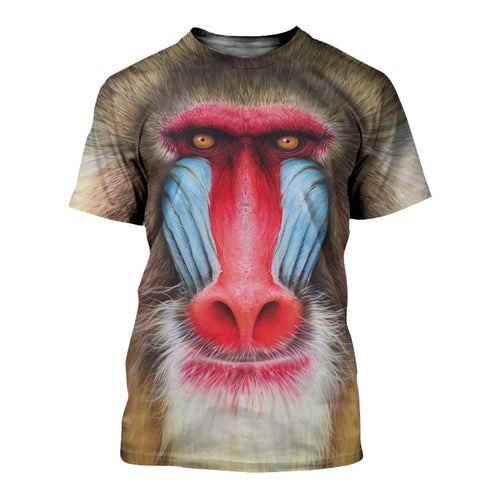 3D All Over Printed Mandrill Shirts And Shorts DT03091902