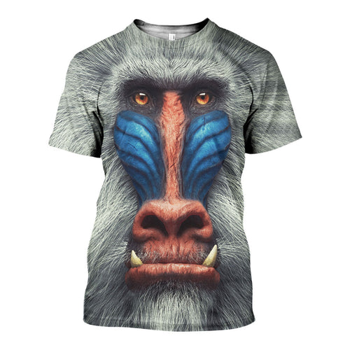 3D All Over Printed Mandrill Shirts And Shorts DT23081919