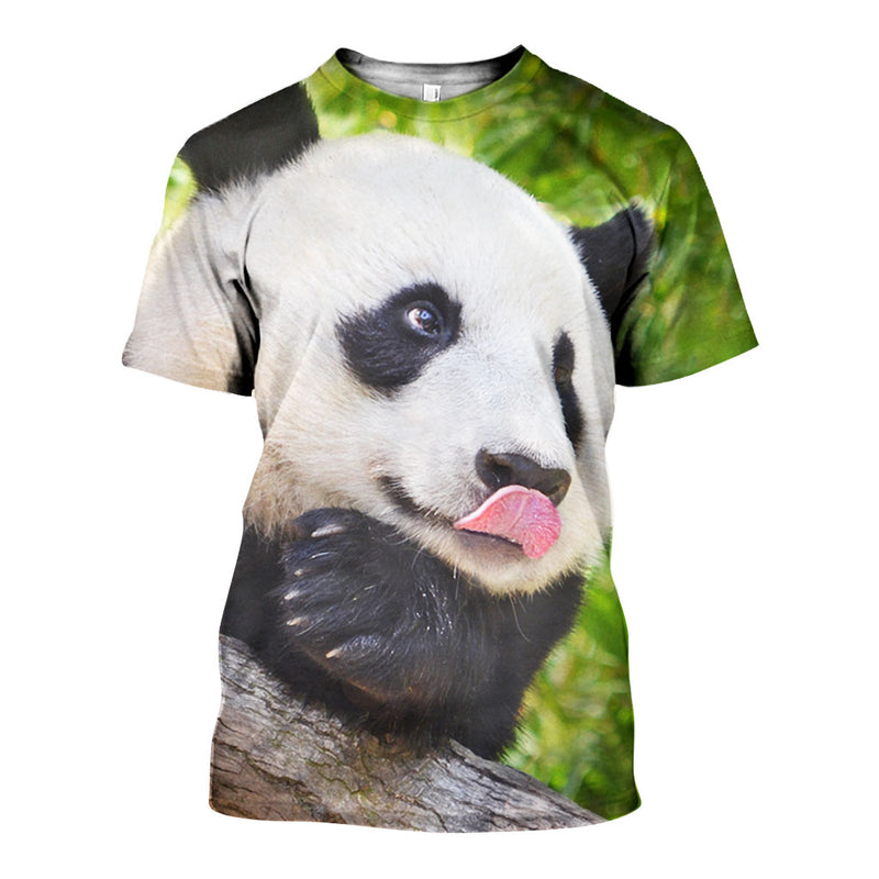 3D All Over Printed Giant Panda Shirts And Shorts DT08081909