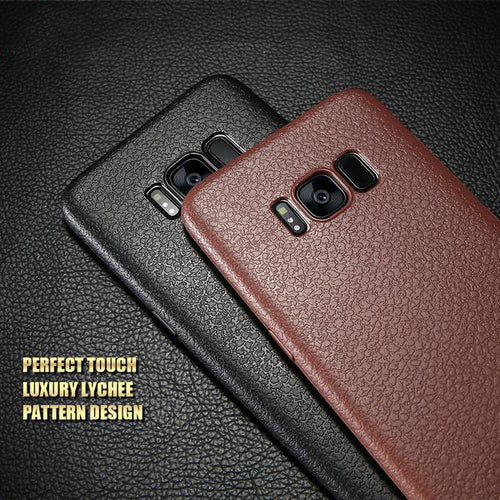 Ultra Thin Leather Skin Case For Samsung S8/ S8 Plus/ S9/ S9 Plus/ Note 9