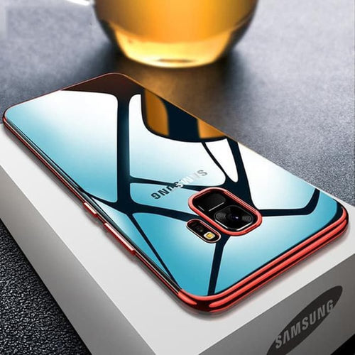 Transparent Plating Case For Samsung Galaxy S9/ S9 Plus