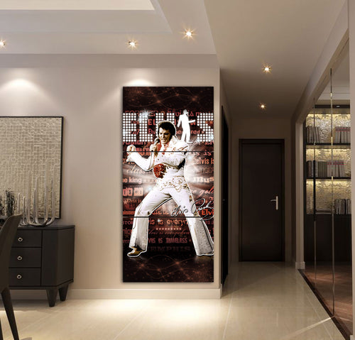 3-PIECE ELVIS PRESLEY PRINTED CANVAS WALL ART 2018