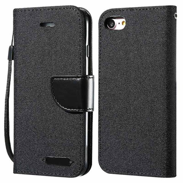 Wallet Flip Case Card Leather Holder For iPhone 7/7Plus, 8/8Plus, iPhone X, iPhone XS
