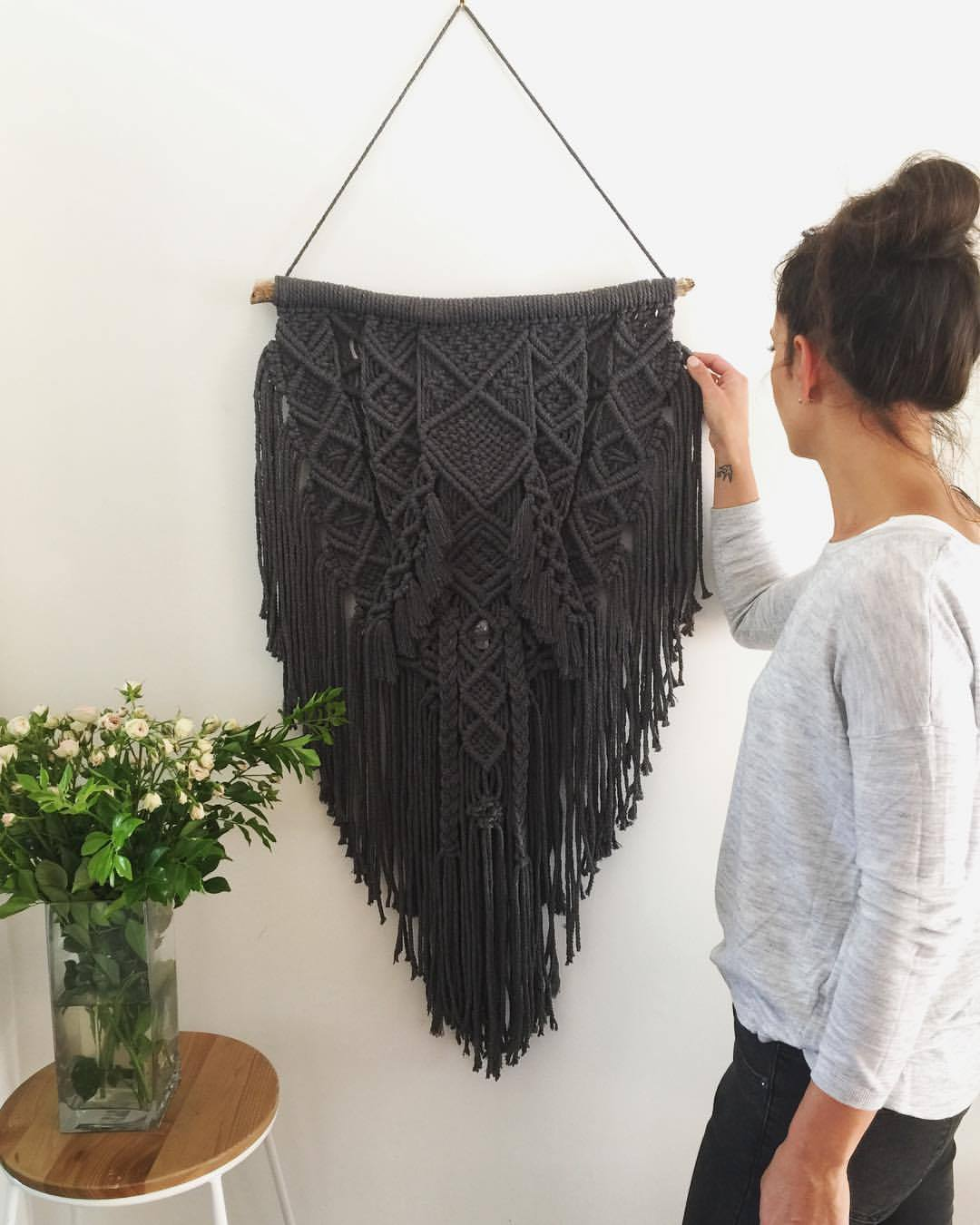 Boho Shield - Custom made Macramé Wall Hanger