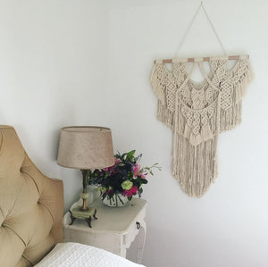 Embrace - Custom made Macramé Wall Hanger