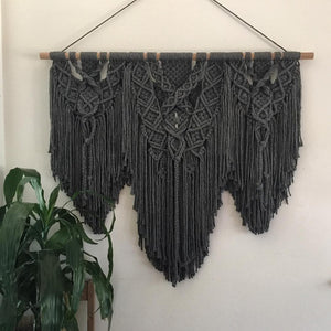 Grey Goose - Custom made Macramé Wall Hanger