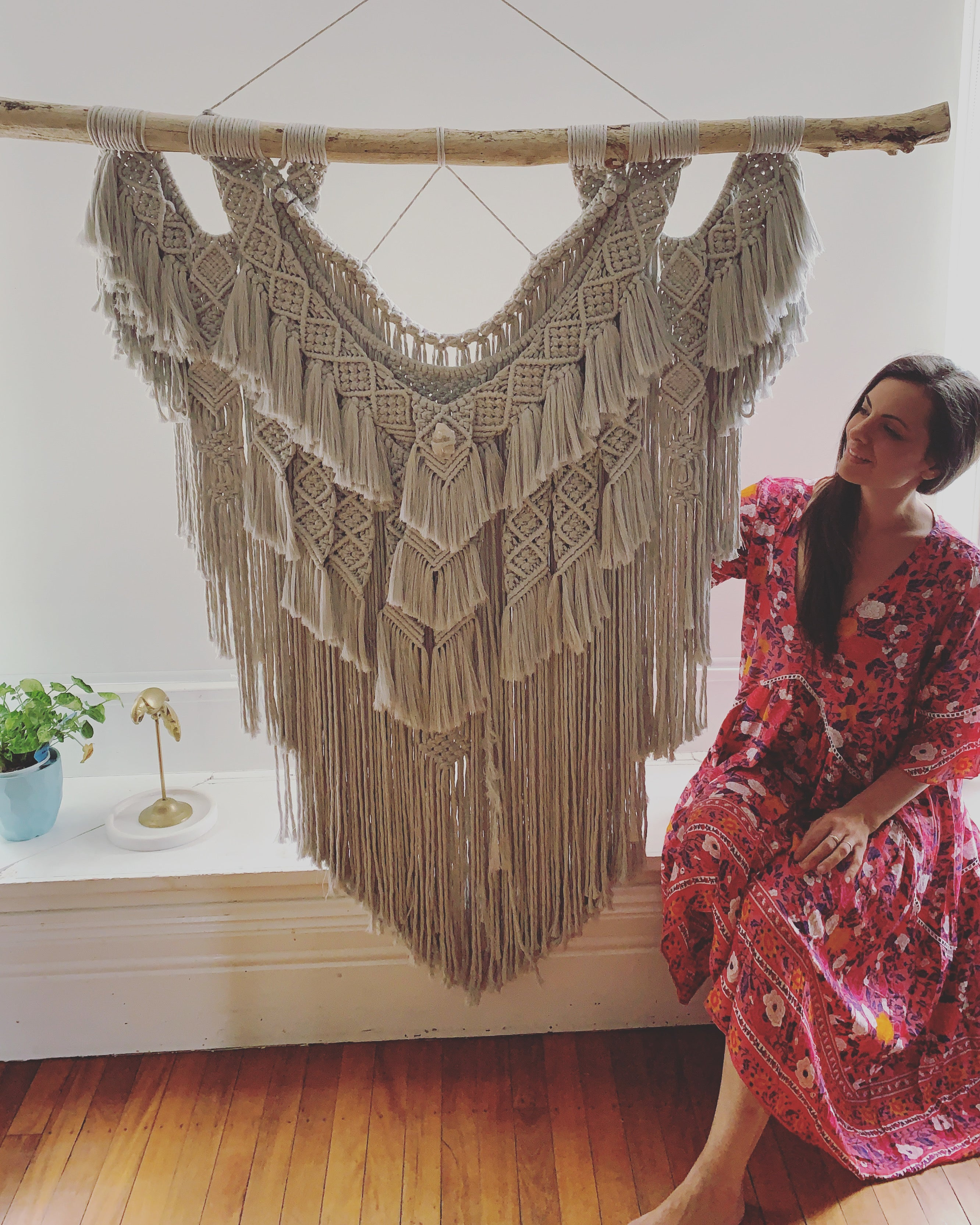 Where there's a will there's a way  - Custom made Macramé Wall Hanger