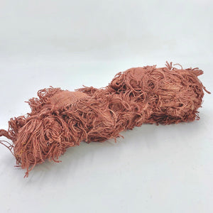 Shag Pile Cotton Ribbon - approx. 9.4m - Click to choose colour!