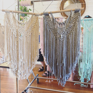 16th May 2021 - 'Colour & Crystal' Macrame Workshop $150 ($50 deposit required)
