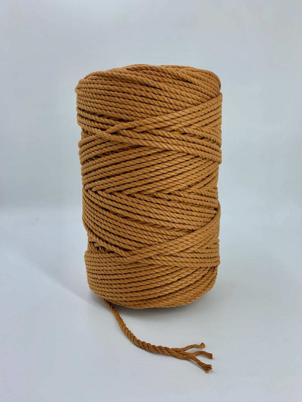 4mm 3 ply rope - Copper - 1kg