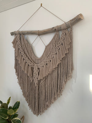 Infinity - Custom made Macramé Wall Hanger