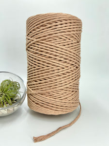 3mm Macramé String - 1kg - (not my) True Nude