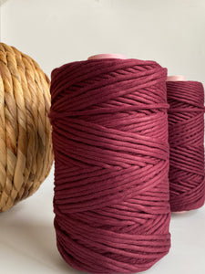 Windsor Wine - Egyptian Giza String - 5mm Premium Cotton
